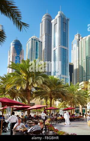 Dubai - Marina, United Arab Emirates - Stock Photo