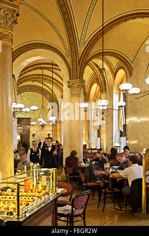 The legendary Café Central in Innere Stadt (Inner City), Vienna, Austria. - Stock Photo