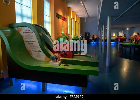 The Green Energy exhibition, National Museum of Science, Technology, and Space , Israel, Haifa - Stock Photo