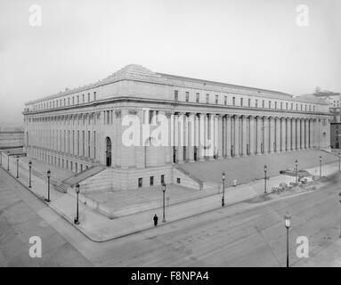 General Post Office, New York City, USA, circa 1912 - Stock Photo