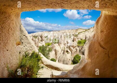 Cappadocia - Goreme National Park, Turkey, UNESCO - Stock Photo