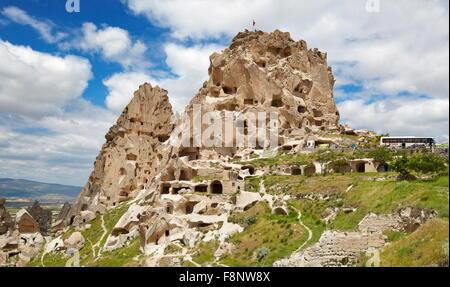 Cappadocia - Uchisar, Turkey, UNESCO - Stock Photo