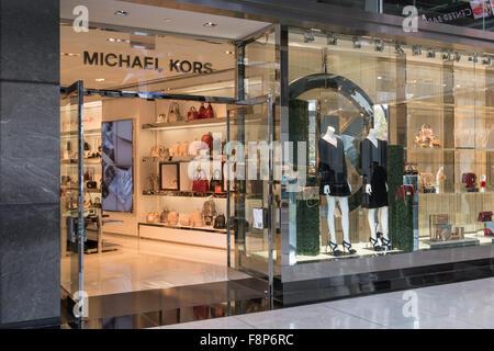 A michael kors store in new york on fifth avenue on for Michael kors rockefeller center