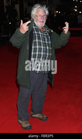 World premiere of 'Ronaldo' at The Vue Cinema, Leicester Square - Red Carpet Arrivals  Featuring: Bill Oddie Where: - Stock Photo