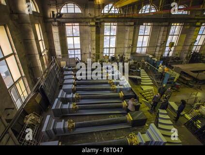 St.Petersburg, Russia. 16th Nov, 2015. A stage set workshop at Mariinsky Theatre. © Ruslan Shamukov/TASS/Alamy Live - Stock Photo