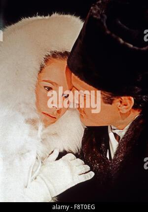Doctor Zhivago, aka: Doktor Schiwago, USA 1965, Regie: David Lean, Darsteller: Geraldine Chaplin, Omar Sharif Stock Photo