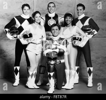 Mighty Morphin Power Rangers, Actionserie, USA 1993-1996, Darsteller: Jason Frank, Steve Cardenas, Karan Ashley, - Stock Photo