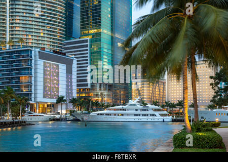 USA, Florida, Miami downtown - Stock Photo