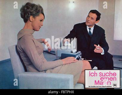 ich suche einen mann deutschland 1966 regie alfred weidenmann stock photo 91513498 alamy. Black Bedroom Furniture Sets. Home Design Ideas