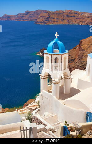 Santorini - Oia, Cyclades Islands, Greece - Stock Photo