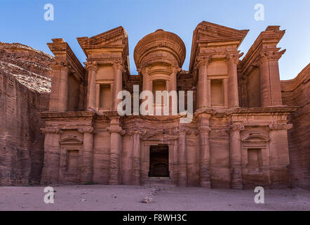 The Monastery in Jordan - Stock Photo