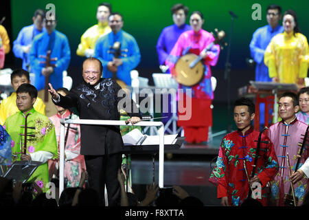Washington, DC, USA. 11th Dec, 2015. Artists of China National Orchestra perform for American audience at the Kennedy - Stock Photo