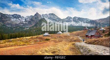 Gasienicowa Valley - Tatra Mountains, Poland - Stock Photo