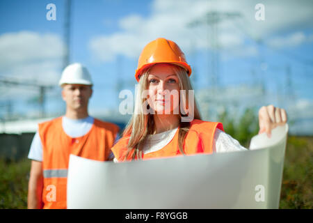 electric, electrical, electrician, foreman, workers