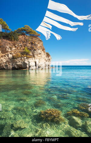 Greece - Zakynthos Island, Ionian Sea, Agios Sostis Island, Laganas - Stock Photo