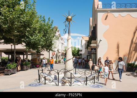 La Roca Village (Designer Outlet Shopping), La Roca del Vallès, Barcelona, Province of Barcelona, Catalonia, Spain