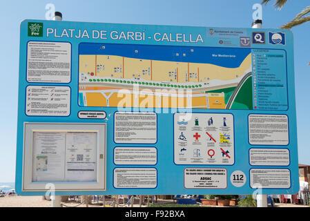 Tourist Information Barcelona Spain Stock Photo 22968805 Alamy