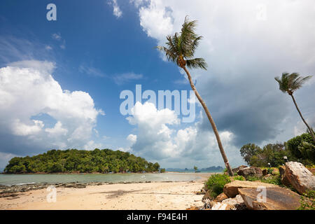 Klong Muang Beach, Krabi Province, Thailand. - Stock Photo