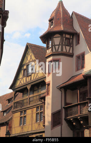 maison pfister colmar alsace france stock photo royalty free image 89210980 alamy. Black Bedroom Furniture Sets. Home Design Ideas