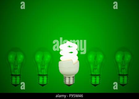 ... light bulbs with centre Low energy light bulb glowing - Stock Photo & Low energy light bulbs with centre light glowing Stock Photo ... azcodes.com