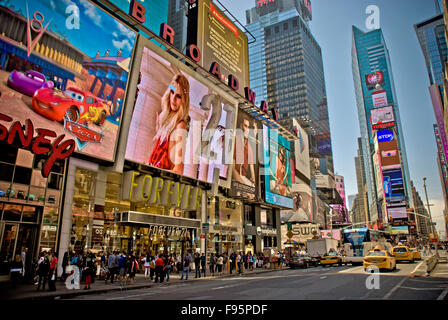 Times Square, New York - Stock Photo