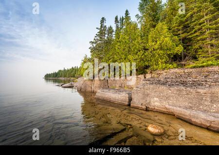 Misery Bay Provincial Park, Manitoulin Island, Ontario, Canada - Stock Photo
