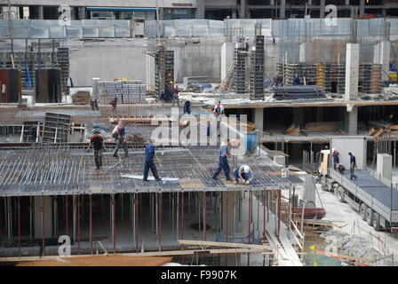 constrction workers - Stock Photo
