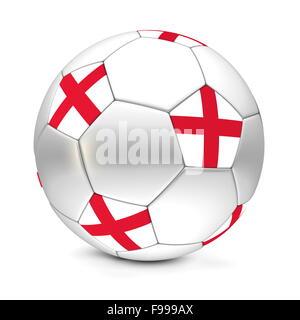 Soccer Ball/Football England - Stock Photo