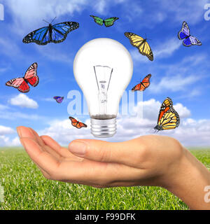 Renewable Energy is Within Our Reach - Stock Photo