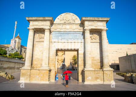 Puerta del Puente. Cordoba, Spain. - Stock Photo