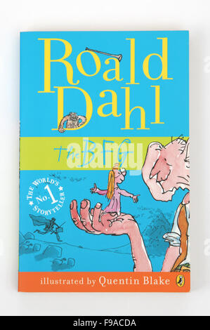 The BFG, a children's book by Roald Dahl - Stock Photo