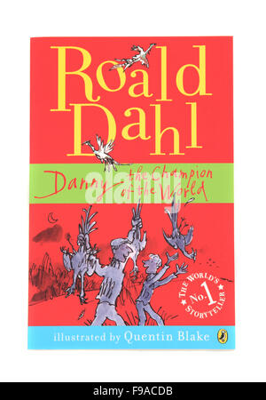 Danny the Champion of the World, a children's book by Roald Dahl - Stock Photo