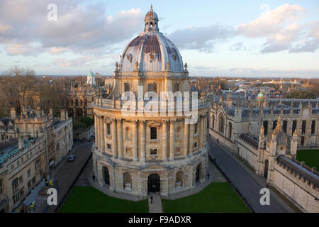 Radcliffe Camera in Oxford, part of the university - Stock Photo