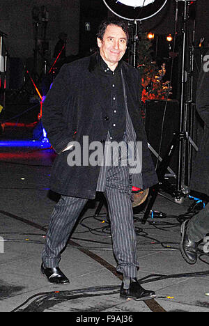 London, UK. 14th December, 2015. Host and guests of The One Show BBC London UK. Presenter-Host Alex Jones and Jools Holland featured. British Actor Harry Hill pi Credit:  Fabry/Alamy Live News