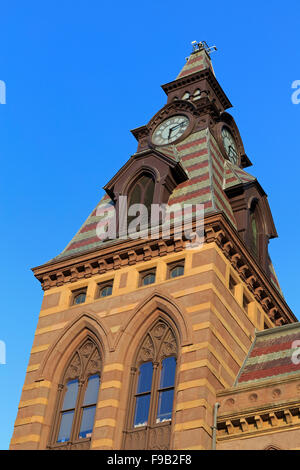 City Hall, New Haven, Connecticut, USA - Stock Photo