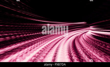 Streams of pink refracted light 10607 - Stock Photo