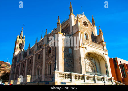 San Jerónimo el Real church, Madrid, Spain - Stock Photo