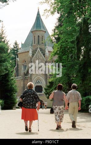 Czech Republic - Schwarzenberg Burial Chamber,, Trebon - Stock Photo