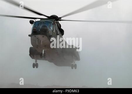 Italian military intervention in Iraq (10/2004), 6° ROA (Independent Operating Unit) of Italian Air Force, helicopter - Stock Photo