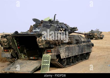 Italian military intervention in Iraq (10/2004), infantry armored fighting vehicle VCC 80 'Dardo' - Stock Photo
