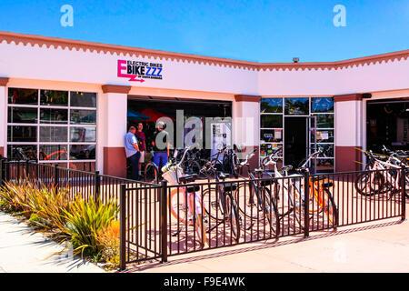 Bicycle Rental Shop In Santa Teresa Town Nicoya Peninsula