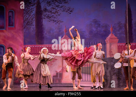 Don Quixote Ballet, Act I - Stock Photo