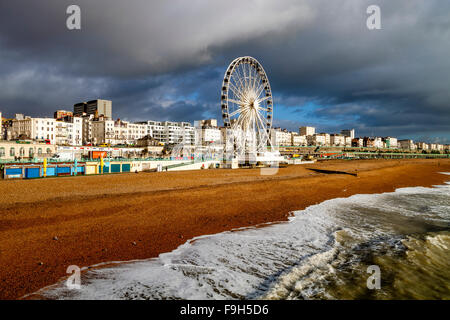 The Seafront, Brighton, Sussex, UK - Stock Photo