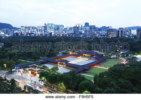 Changgyeonggung Palace - Stock Photo