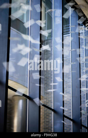 TISCH HOSPITAL ATRIUM NYU LANGONE MEDICAL CENTER                              NEW YORK CITY                NEW YORK - Stock Photo