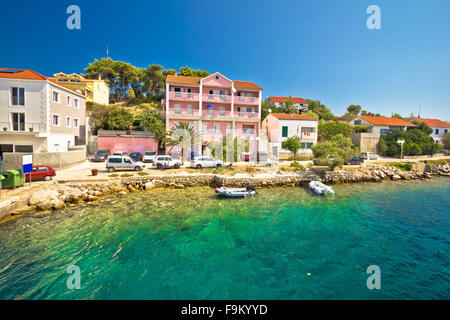 Coast of Sali on Dugi otok island, Dalmatia, Croatia - Stock Photo