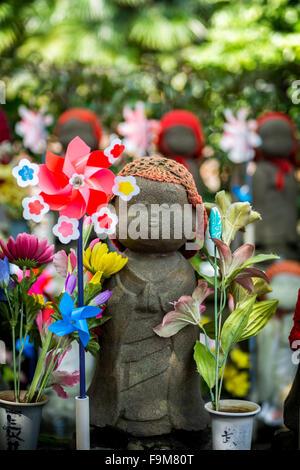 Zojo Ji Shrine in Tokyo - Stock Photo