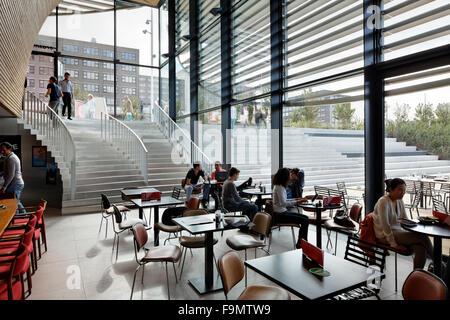 Erasmus University Rotterdam Woudesteijn Campus Pavilion Interior Of A Public Space