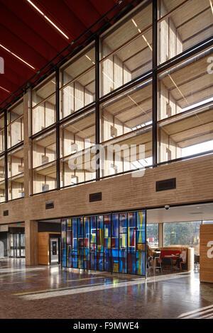 Erasmus University Rotterdam Woudestein Complex Redevelopment Interior Building And Campus Public Space