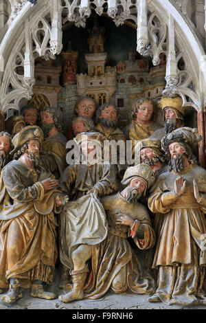 Life of St. Jacques le Majeur : 'Philetus, hit by a spell Hermogenes for converting to the word of St. Jacques is - Stock Photo